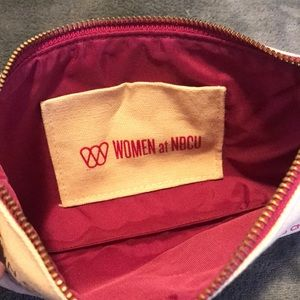 06ccdf71f19eb0 Bags | Canvas Makeup Bag With Coco Chanel Quote | Poshmark